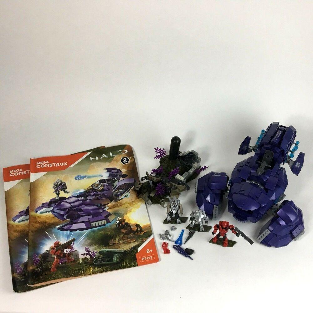 Mega Bloks Mega Construx Halo Covenant Wraith Ambush Set