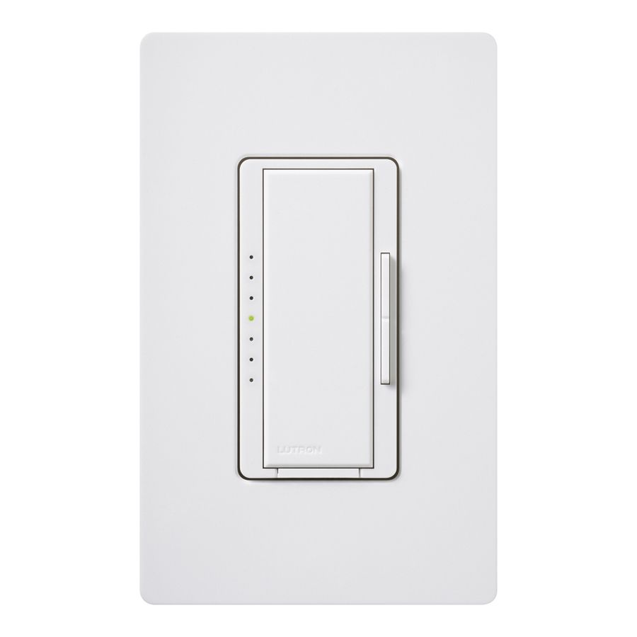 Lutron Macl 153mlh Wh Maestro 150 Watt Double Pole 3 Way 4 Bathroom Switch White Indoor Tap Dimmer 2997 Lowescom 1204 Pinterest Future House Kitchens And