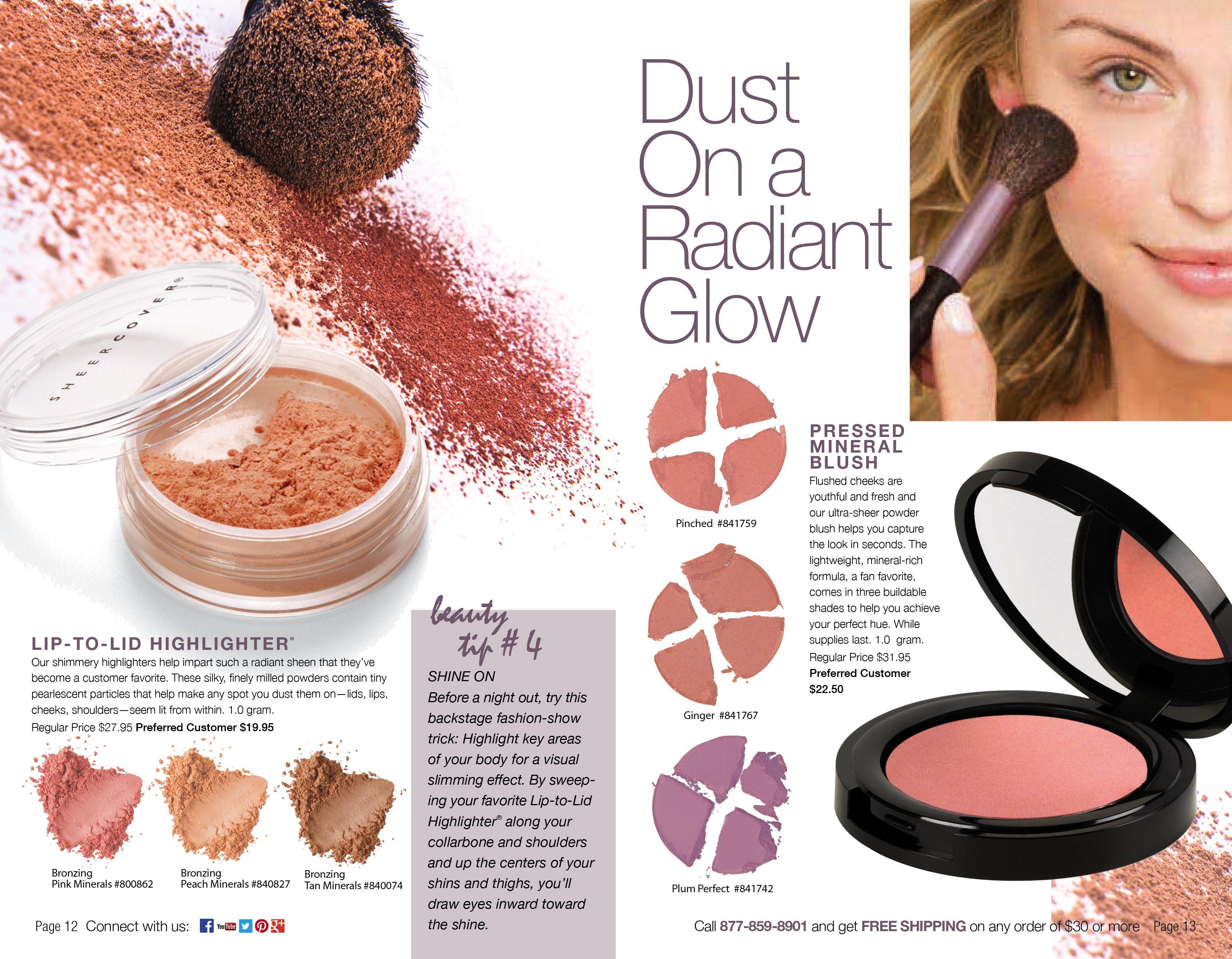 Dust on a radiant glow. Minerals makeup, Makeup, Makeup kit