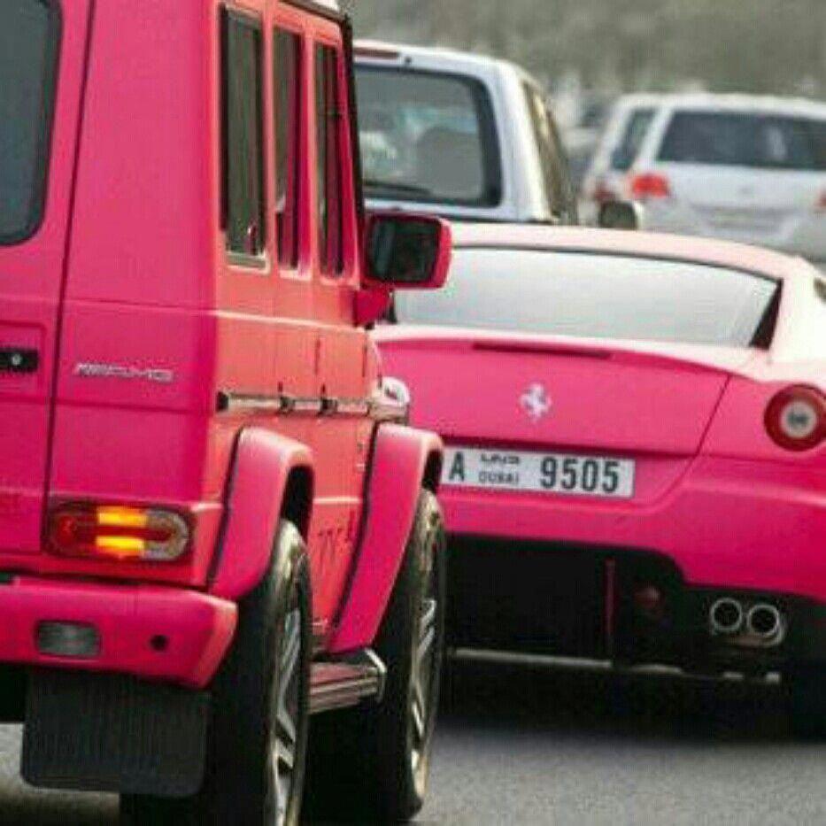 Ferrari Pink ~ #LadyLuxuryDesigns #Lamborghini #AlfaRomeo #pinkferrari
