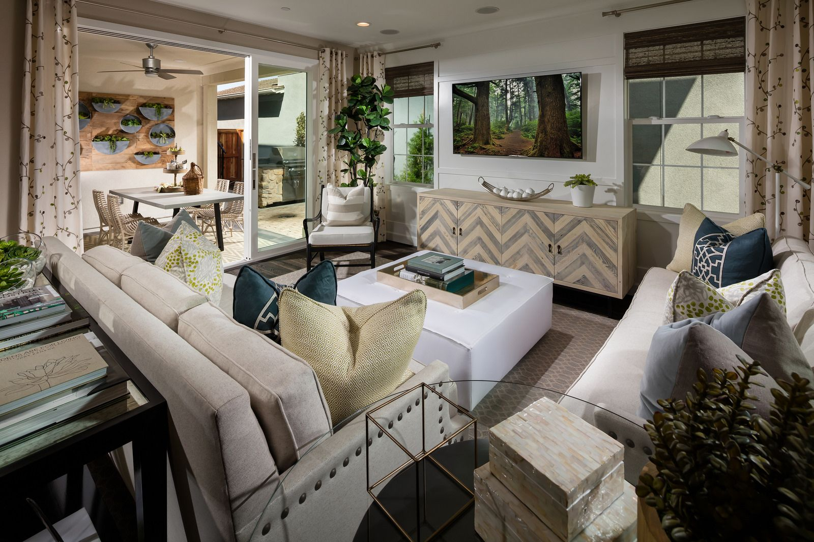 Persimmon P3 Famliy Room | Indoor outdoor living, Home ... on Patio Living Room Set id=88785