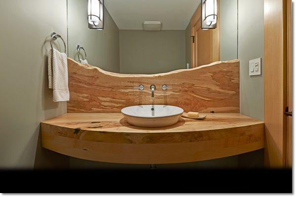 Choosing The Best Bathroom Vanity Tops Bathroom Vanity Units Live Edge Wood Furniture Raw Wood Furniture Live Edge Furniture