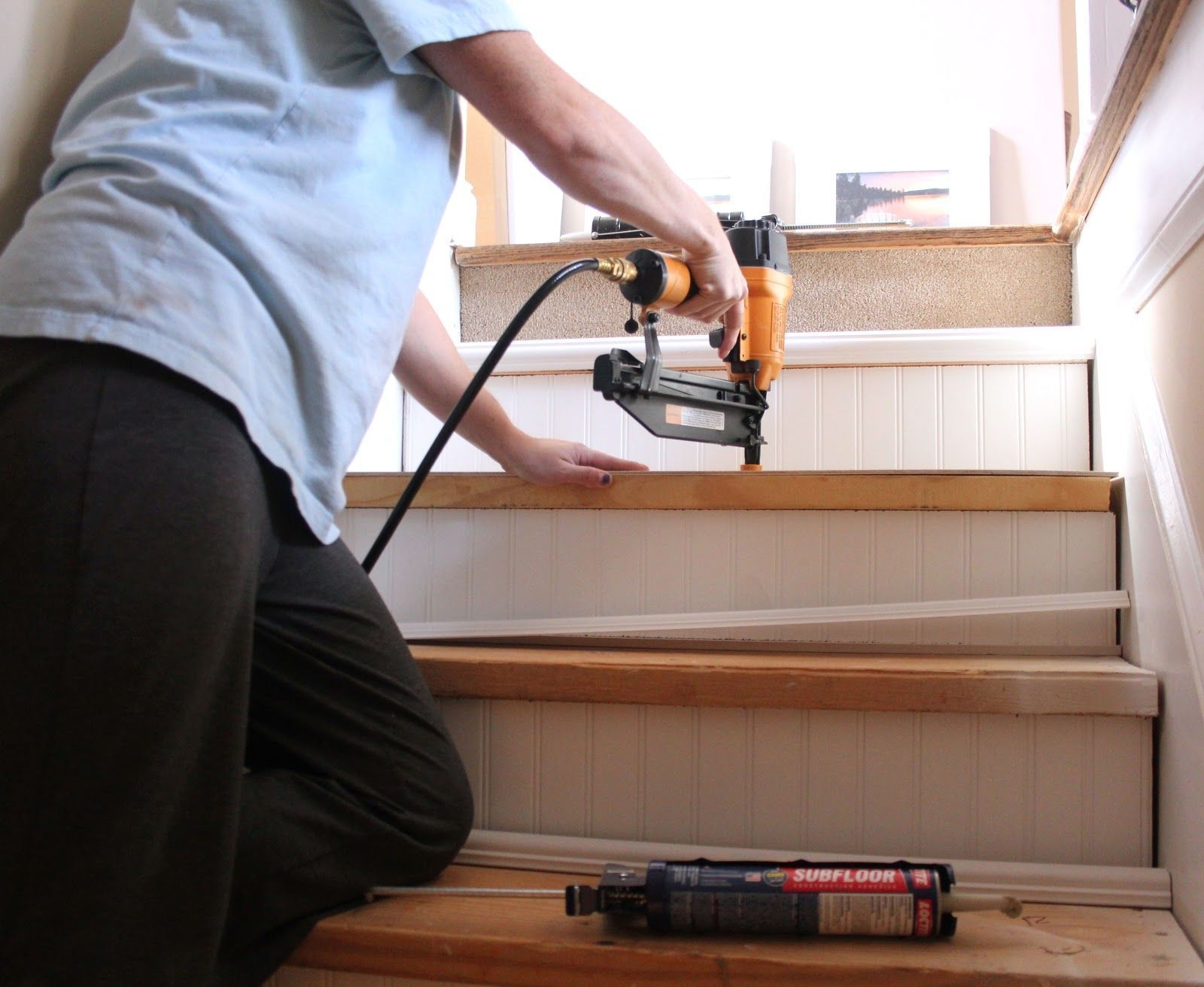 Fixing Basement Stairs