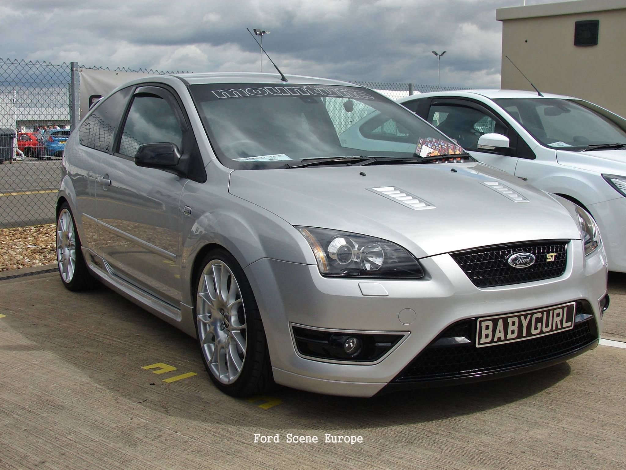 ford focus st mk2 silver big rims ford focus st tuning. Black Bedroom Furniture Sets. Home Design Ideas