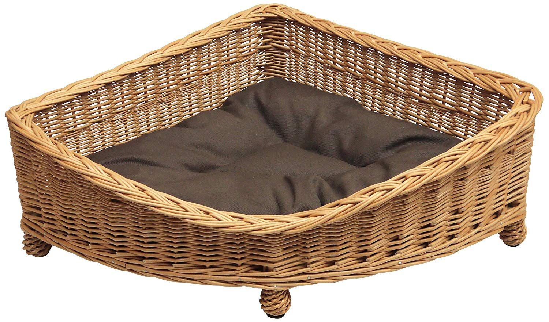 Prestige Wicker Willow Pet Corner Basket, Large Amazon.co