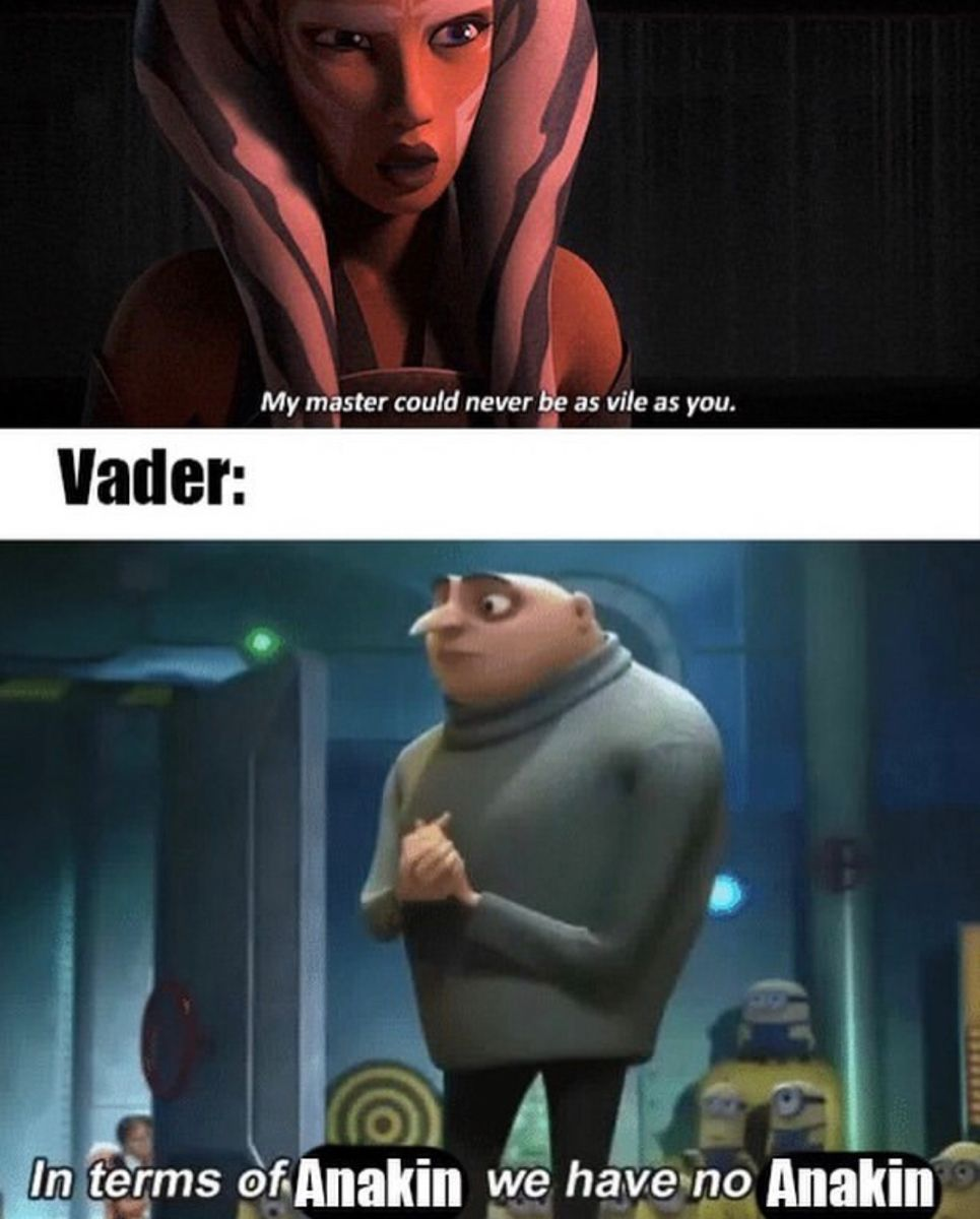 Pin By Cassandra Nguyen On Star Wars Star Wars Jokes Star Wars Facts Star Wars Memes