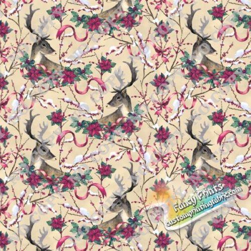DE517612 digital printed fabric, fancy custom print fabric