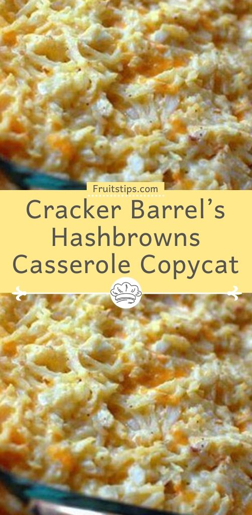 Cracker Barrel S Hashbrowns Casserole Copycat In 2020 Hash Brown Casserole Hashbrown Recipes Frozen Hashbrown Recipes
