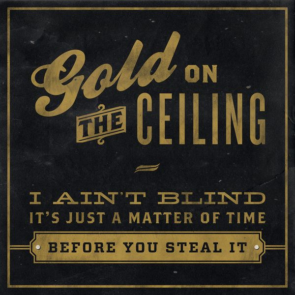 The Black Keys - Gold on the Ceiling Art Print