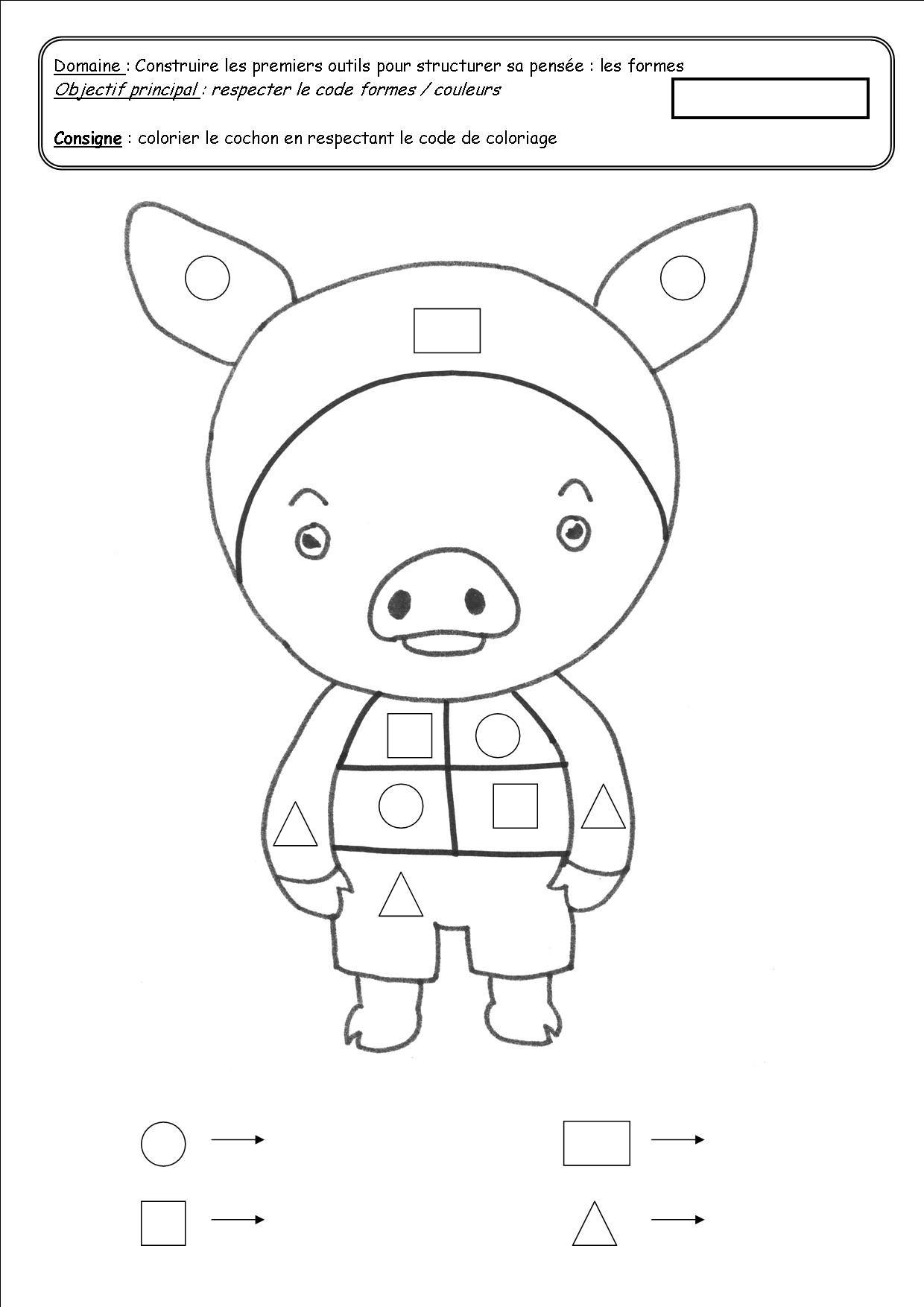 Les Trois Petits Cochons Gs : trois, petits, cochons, Épinglé, Activités, Enfants