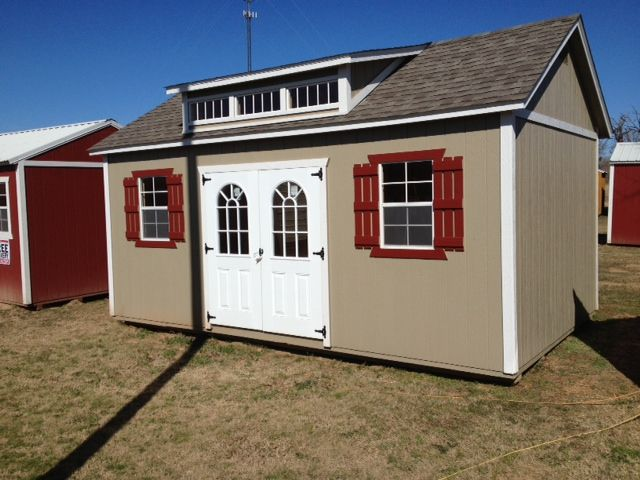 Portable Shed For Small Business : Derksen buildings portable texas a