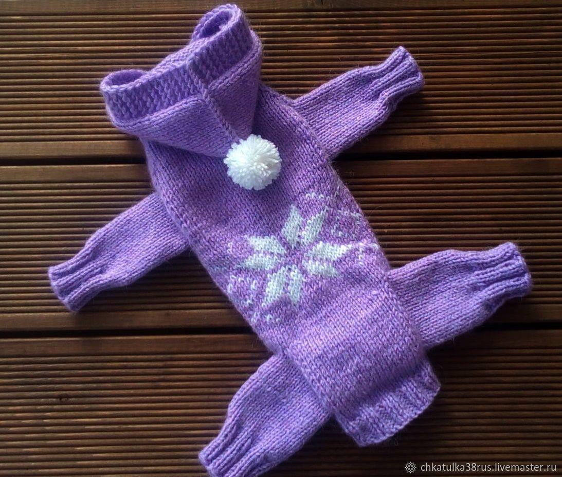 одежда для собак мелкой породы вязание крючком