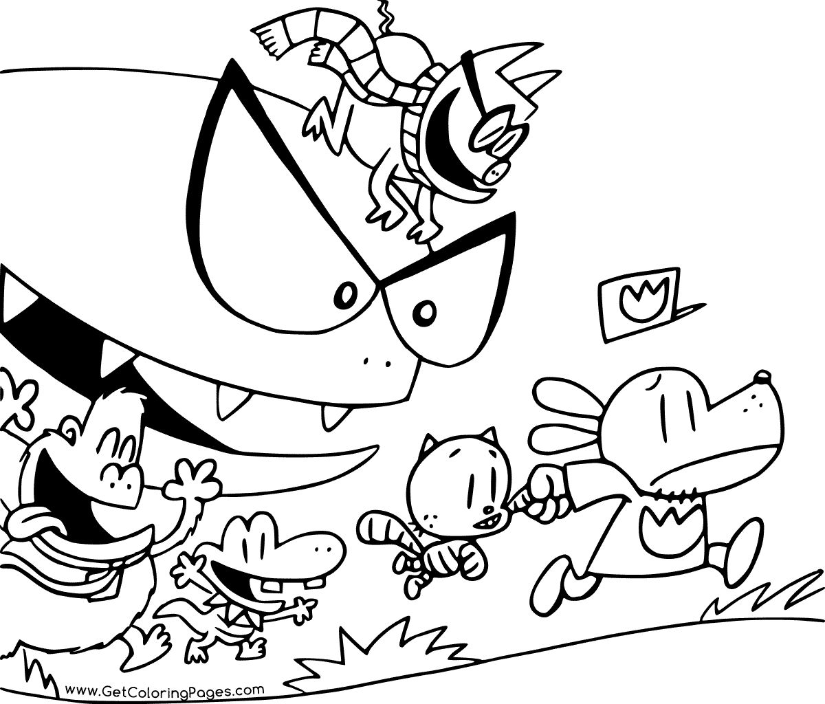 Dogman Coloring Pages For Kids In 2020 Coloring Pages Coloring Pages For Kids Colouring Pages