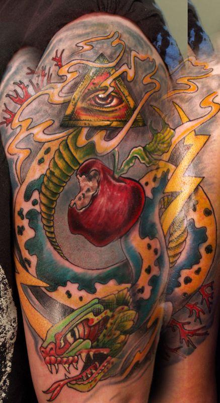 Bomb Garden Of Eden Tattoo Tattoo Ideas Tattoos Body Art