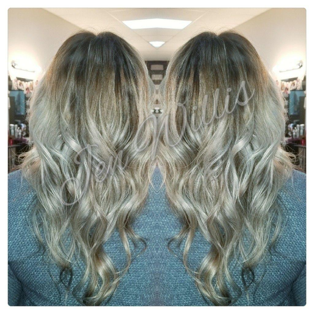 Blonde Baylayage Ash Blonde Joico Lumishine Salon