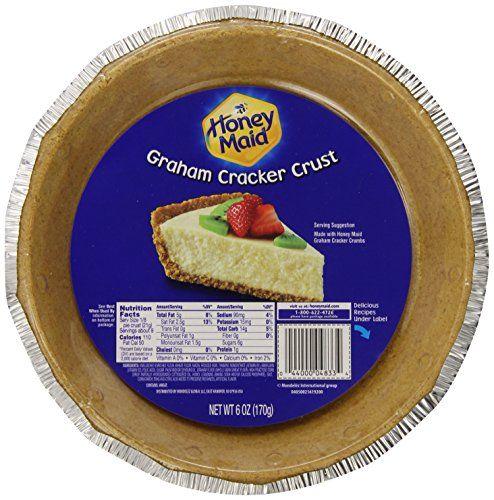 Honey Maid Graham Cracker Pie Crust 6 Ounce 12 Pack More Details At The Link Honey Maid Graham Crackers Honey Maid Graham Cracker Crust Graham Crackers