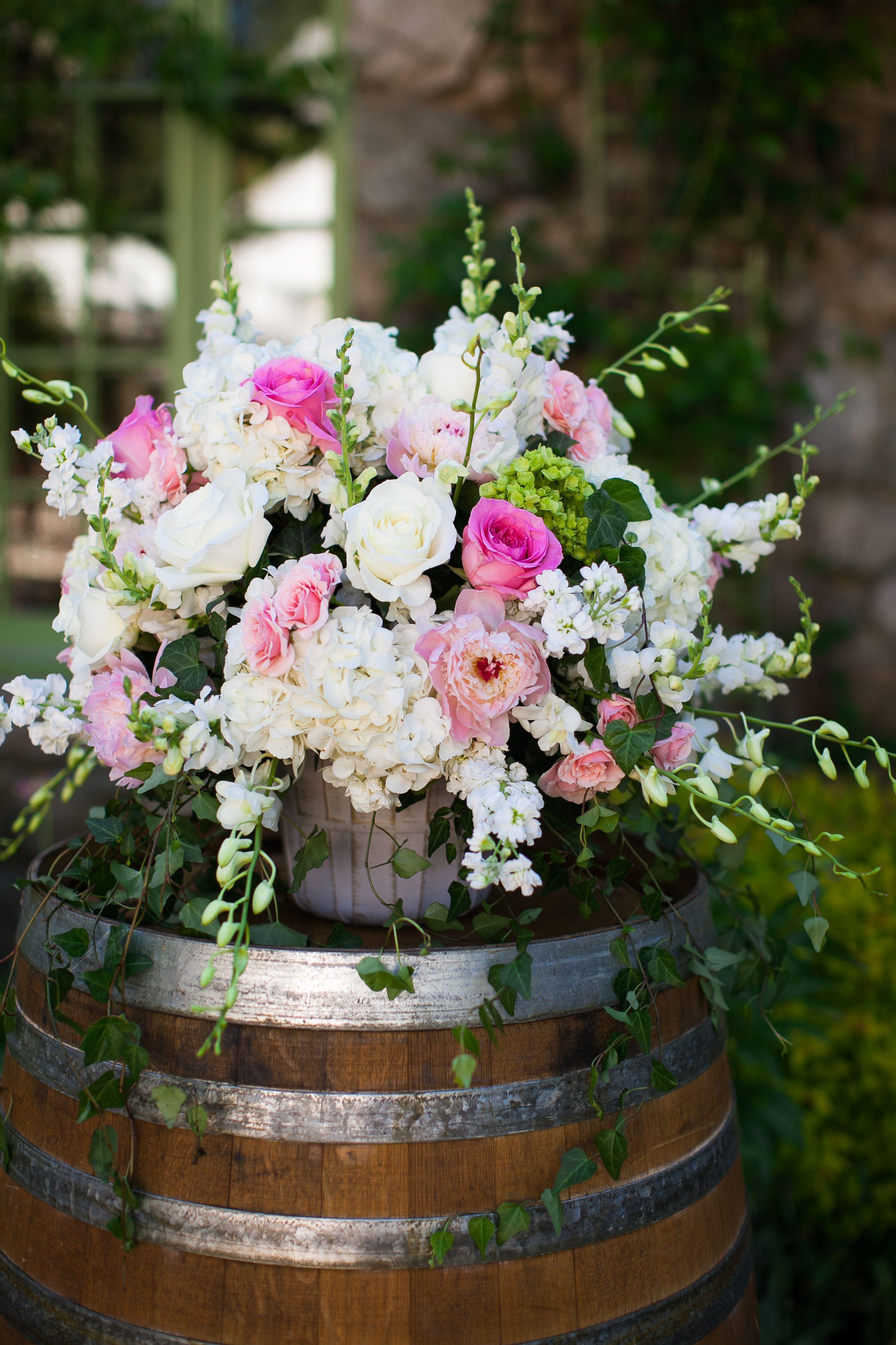 40 Diy Fall Wedding Ideas That Pay Homage To The Season Wine Barrel Wedding Flowers Fall Wedding Diy Wine Barrel Wedding