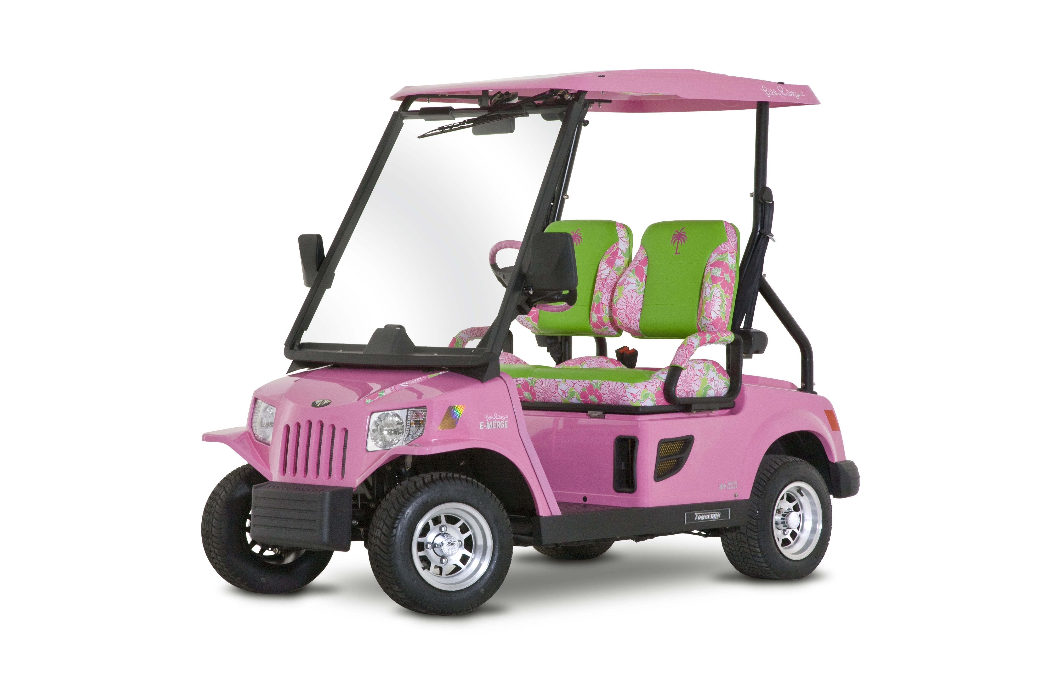 Lilly Pulitzer Golf Cart Maybe Someday