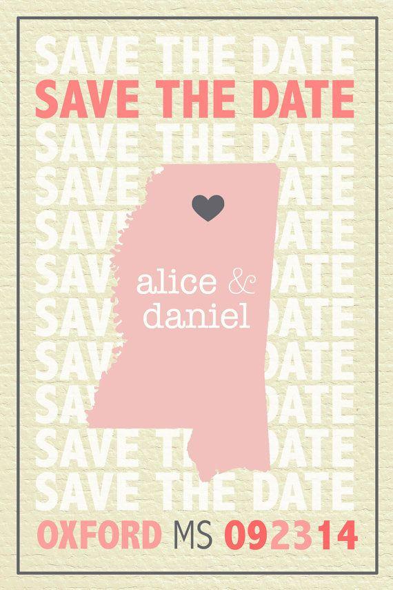 Bridal Save the Date Invitation Stationery by madeforLOVEstudio, $16.00
