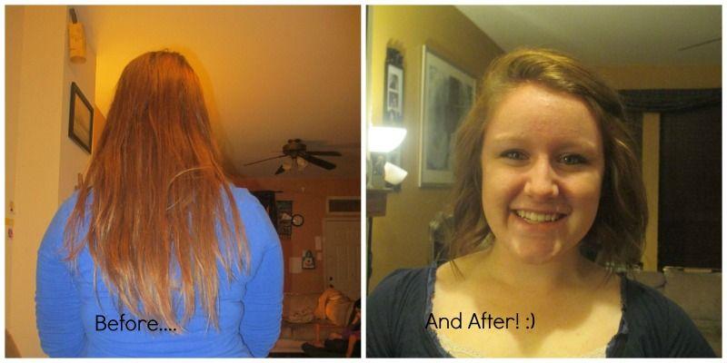 New hair cut!  :)
