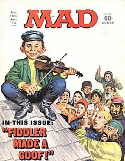 """""""Mad Magazine"""" meshuggas """"Fiddler on the Roof."""""""