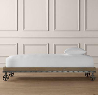 Industrial Cart Platform Bed Platform Daybed Daybed
