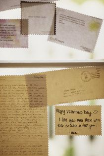 Guest Book - Leave Postcard with a message.