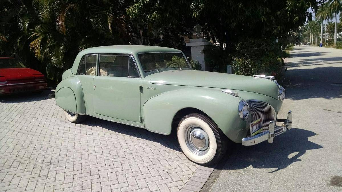 1941 Lincoln Continental 2 Door Sedan Maintenance/restoration of old ...
