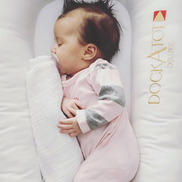 DockATot is like sleeping on her own personal cloud. Babies love their DockATot baby lounger, co-sleeper and portable baby bed. Made with love in Sweden by a mom who wanted the best for her own kids. DockATot is a baby gear essential for 2016. dockatot.com
