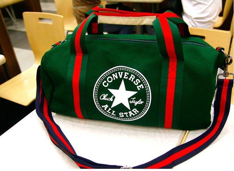 966aeed7c7 Unisex Converse Bag Single Shoulder Bag Green   Like   Bags ...