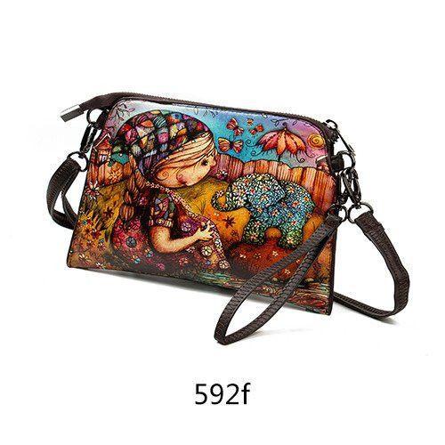 Floral Women's Crossbody Handbag
