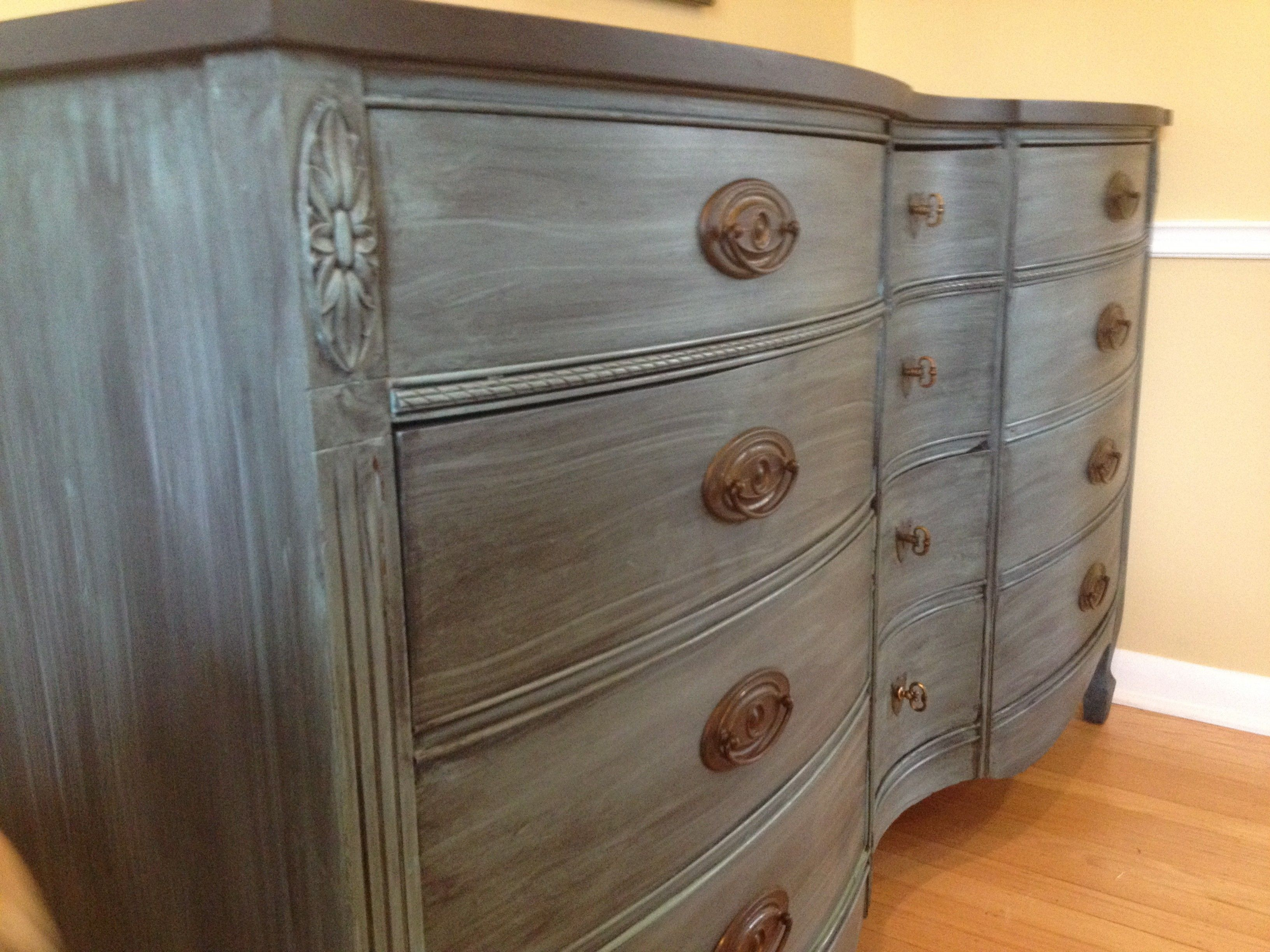 Stunning Antique Dresser $275 - Indianapolis http://furnishly.com ...