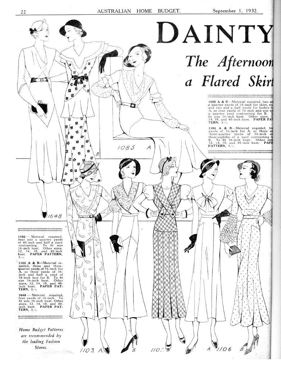 Australian Home Budget magazine 1st September 1932   1930s ...