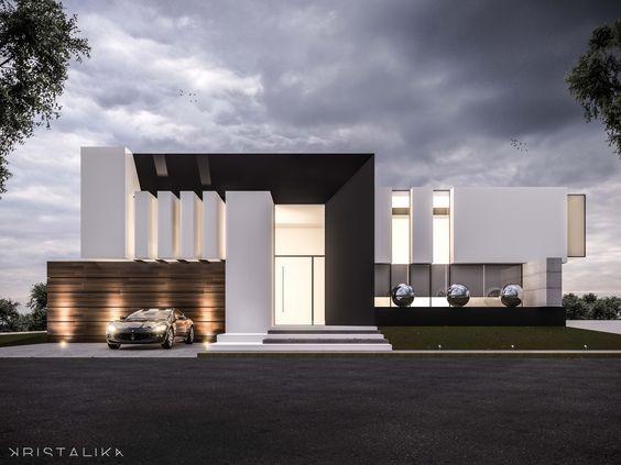 Da House Architecture Modern Facade Contemporary House Design Architecture Maison Moderne Architecture De Maison Maison Moderne