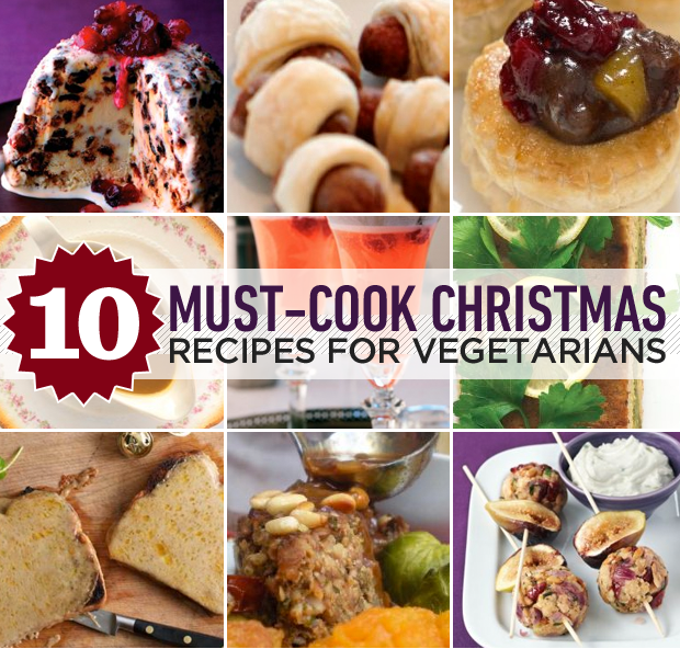 10 must-cook Christmas recipes for vegetarians