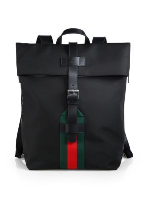 a538c026f GUCCI Techno Canvas Backpack. #gucci #bags #leather #lining #canvas #nylon # backpacks #