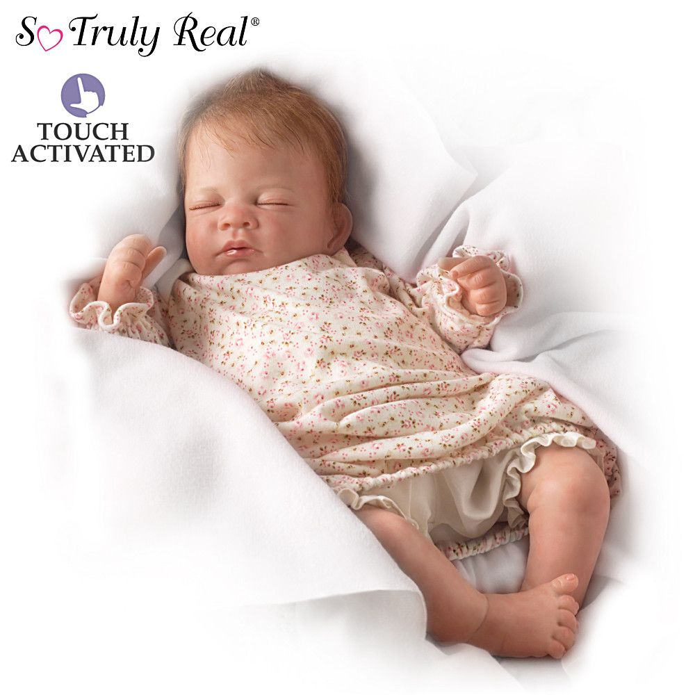So Truly Real Katie Poseable Baby Doll By Mayra Garza Baby Girl Dolls Silicone Baby Dolls Baby Dolls