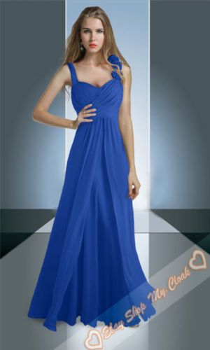 Chiffon Evening Prom Dress Gown Party Long Bridesmaid Dresses Formal