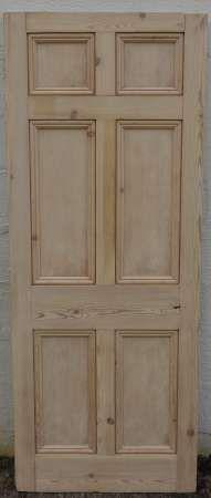 2016-04-04 Georgian 6 panel door 1A-450