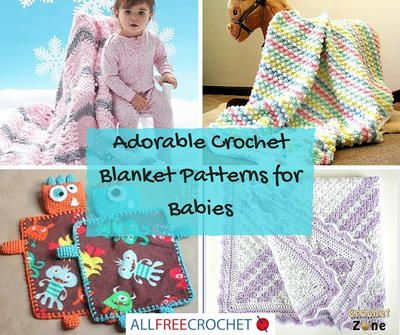 101 Adorable Crochet Blanket Patterns for Babies | Don't miss the most comprehensive collection of crochet blanket patterns for your baby!
