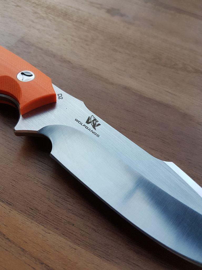 Wolfgangs Outdoormesser Mit G10 Griffschalen Griffschalen Bushcraft Messer Messer