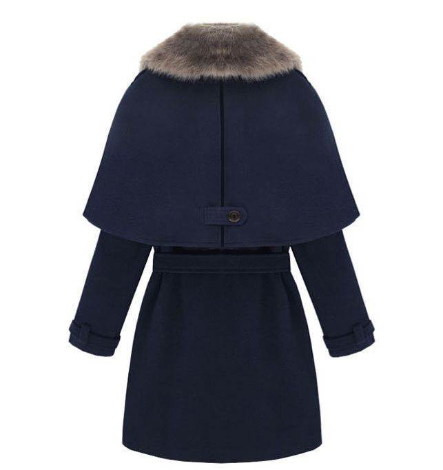 Morpheus Boutique  - Navy Trench Double Breasted Hair Long Sleeve Celebrity Lady Coat, CA$123.06 (http://www.morpheusboutique.com/navy-trench-double-breasted-hair-long-sleeve-celebrity-lady-coat/)