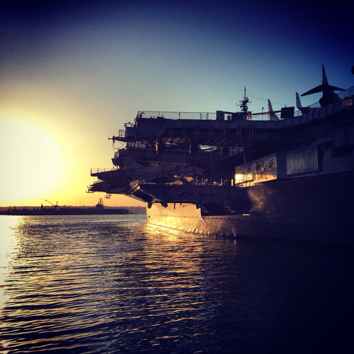 The harbor in San Diego, California