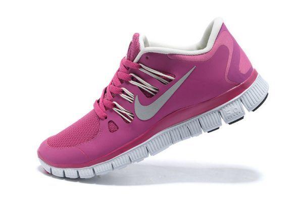 Nike Free Run 5 0 Women S Running Shoes Pink White Nike Shoe Factory Nike Shoes Women Nike Free Shoes