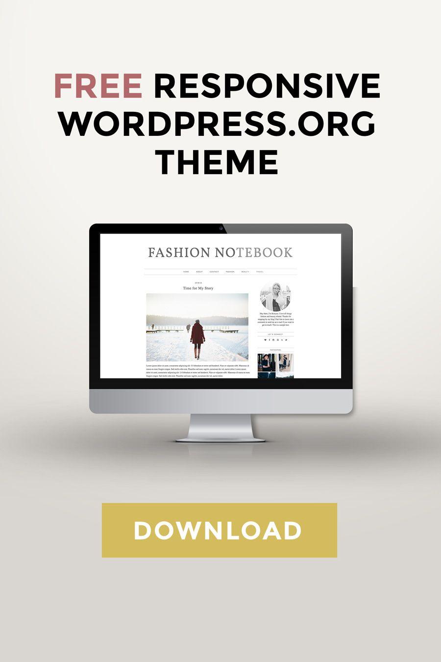 Free Wordpress Theme Download Lifestyle Blog Entrepreneur Blogging Tips Kotryna Bass Blog Themes Wordpress Wordpress Blog Design Free Wordpress Templates