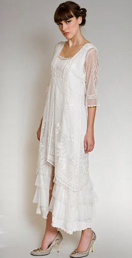 Titanic Tea Party Dress in Ivory by Nataya | Informal wedding ...
