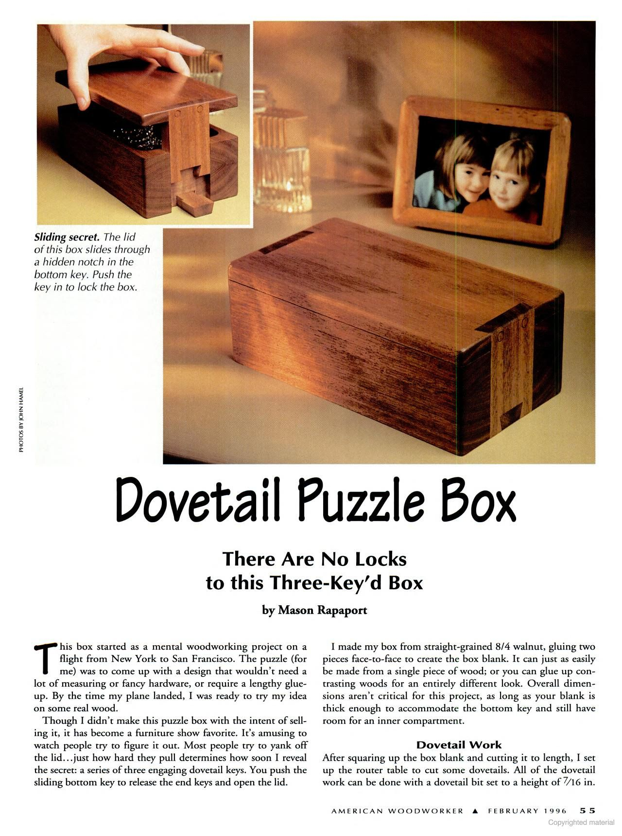 american woodworker - google books | puzzlebox plans in 2019