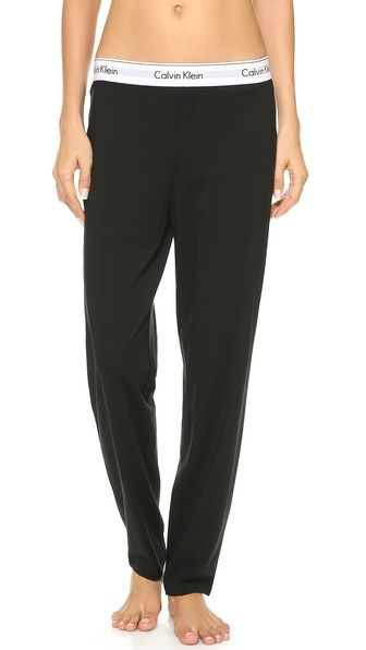 420ba4360146f Calvin Klein Underwear Modern Cotton Wide Pants | Maternity ...