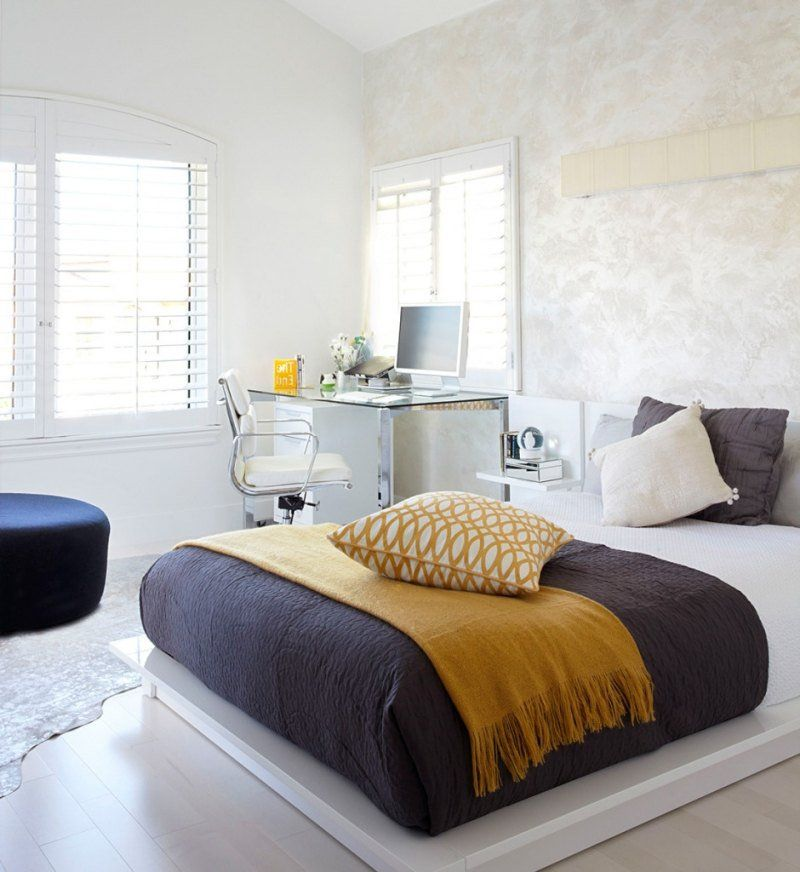 Chambre ado fille en 65 idées de décoration en couleurs | Literie ...
