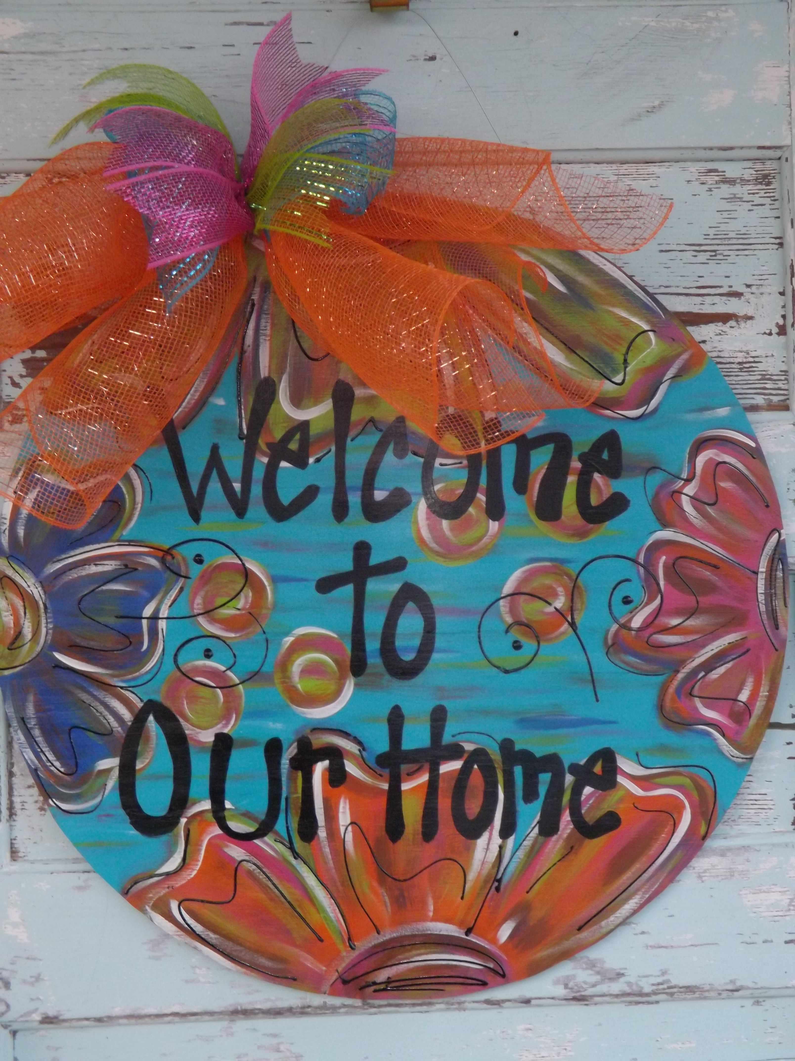 Personalized Door Hanger All Year Round Approx 24 Quot Other Color Choices Available Buyer